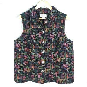 CJ Banks Tapestry Vest